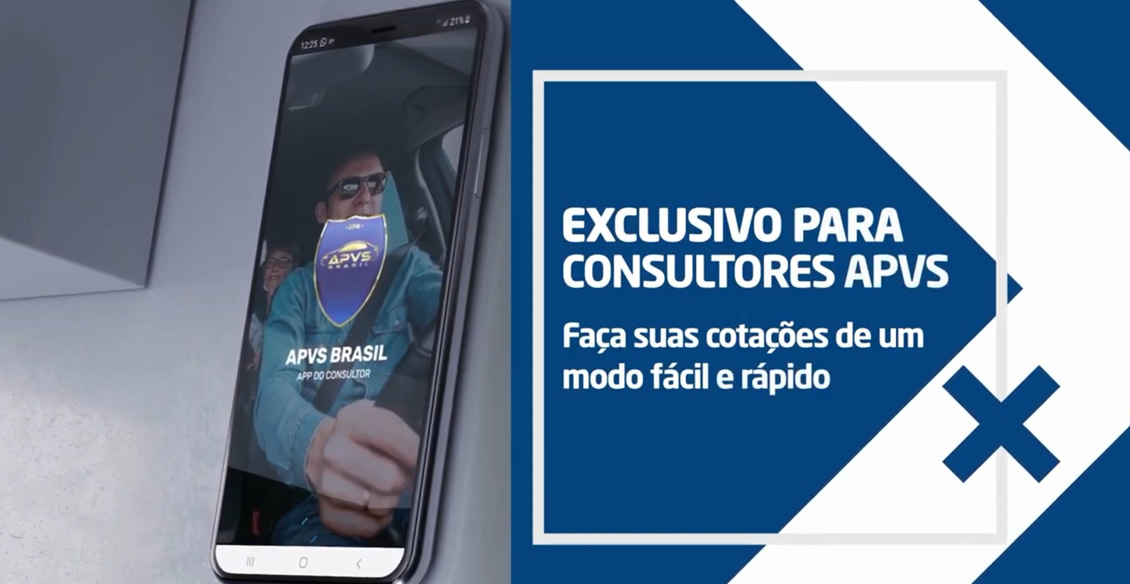 Vídeo de funcionalides - APP do Consultor APVS